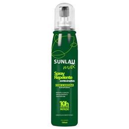 Repelente Sunlau Max Spray com Icaridina 100Ml