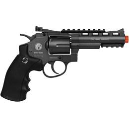 Revólver Airsoft CO2 Win Gun 701 335 fps 6mm Full Metal