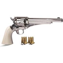 Revólver de Pressão CO2 Crosman Remington 1875 Dual Ammo 4.5mm 450 fps Full Metal