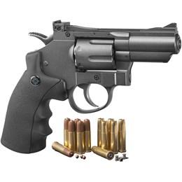 Revólver de Pressão CO2 Crosman SR357 Dual Ammo 4.5mm 400 fps Full Metal