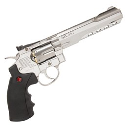 Revólver de Pressão Co2 Crosman SR357 Silver 4.5mm Full Metal