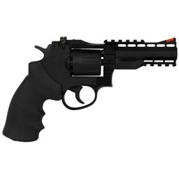 Revólver de Pressão CO2 Gamo GR-Stricker 4.5mm 412 fps Full Metal com Maleta