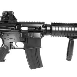 Rifle Airsoft AEG CYMA CM176N M4 CQB + 1000 BB's 0,12g + 2 Alvos
