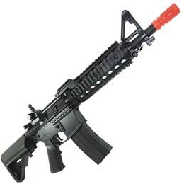 Rifle Airsoft AEG Cyma M4A1 RAS II 410 FPS + 1000 BB's 0,20g + Speedloader + 2 Alvos