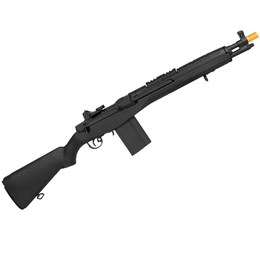 Rifle Airsoft Elétrico Cyma M14 Scout Full e Semi Automatico 380 FPS com Bandoleira