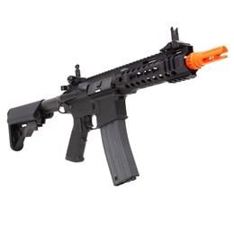 Rifle Airsoft Elétrico G&G Cm16 300 Bot Automático 380 FPS com Zarelho