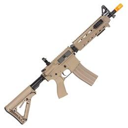 Rifle Airsoft Elétrico G&G Cm16 Mod 0 Dst Tan Automático até 380 FPS