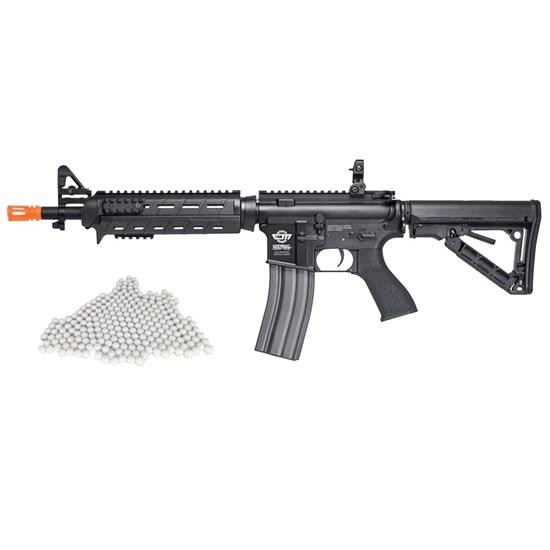 Rifle Airsoft G&G CM16 AEG com 2000 Munições BBs