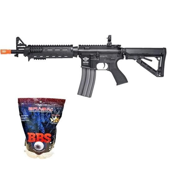 Rifle Airsoft G&G CM16 AEG com 4000 Munições BBs