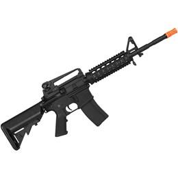 Rifle Airsoft M4A1-RIS AEG 400 FPS Full Metal CYMA CM007 Preto