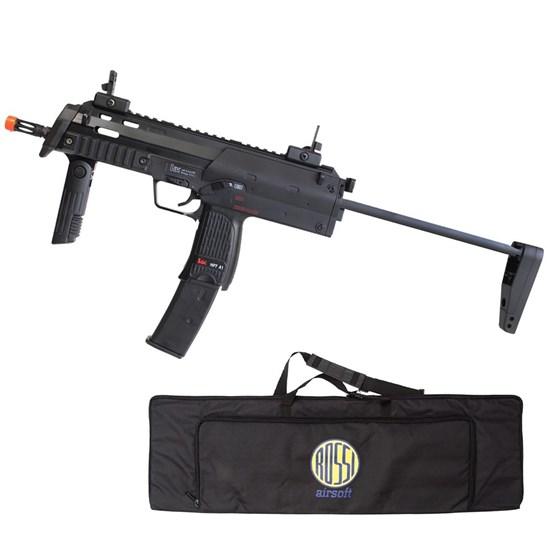 Rifle Airsoft MP7A1 SWAT Umarex Elétrica Full Metal + Case Mala ActionX