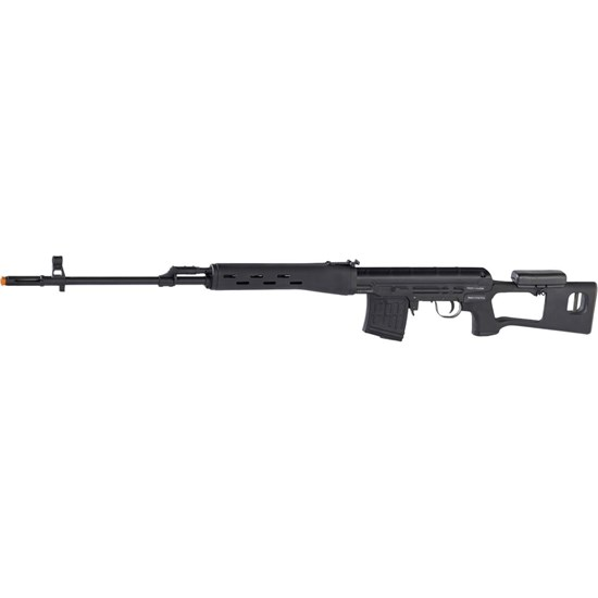 Rifle Airsoft Sniper Kalashnikov Dragunov Elétrico Full Metal - King Arms AS000093