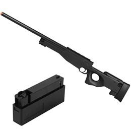Rifle Airsoft Sniper L96 M59A Double Eagle com 2 Magazines Standard L96