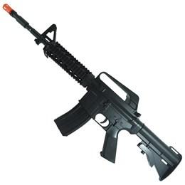 Rifle Airsoft Vigor VG M16RIS Toy Spring + 1000 BB's 0,12g + 2 Alvos + Speedloader