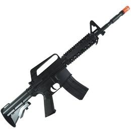 Rifle Airsoft Vigor VG M16RIS Toy Spring Polímero + 2000 BB's 0,12g + 3 Alvos