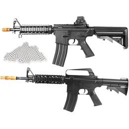 Rifle Airsoft Vigor VG M4RIS CQB Spring + Rifle Airsoft Vigor VG M16RIS + 2000 BBs 0,12g