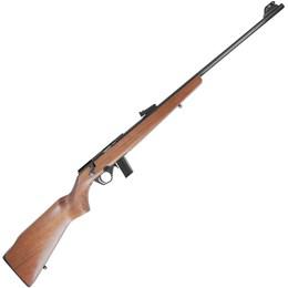 """Rifle CBC 8122 Bolt Action Calibre .22 Cano 23"""" Coronha em Madeira"""