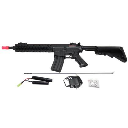 Rifle Elétrico Airsoft Cyma M4A1 Calibre 6mm até 380 FPS