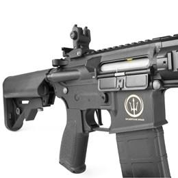 "Rifle Elétrico Airsoft Rossi AR15 Neptune 8"" Automático 380 FPS"