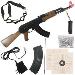 Rifle Fuzil Airsoft AEG Automático CYMA AK47 CM522 410 fps