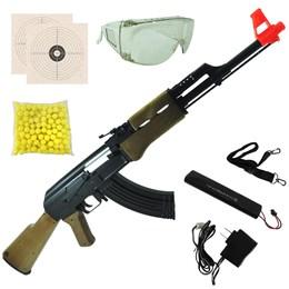 Rifle Fuzil Airsoft Cyma AK47 CM022 AEG Automático TOY