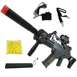 Rifle Fuzil Airsoft Cyma G36 CM021 AEG Automático 150 fps