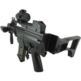 Rifle Fuzil Airsoft Cyma G36 CM021 AEG Automático + 4000 BBs 0,20g + 2 Alvos de Papel 14x14cm