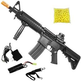 Rifle Fuzil Airsoft CYMA M4 CQB CM176N AEG Automática Bivolt