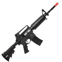 Rifle Fuzil Airsoft Elétrico Qgk M4 Mike S-1 Automático até 300 FPS