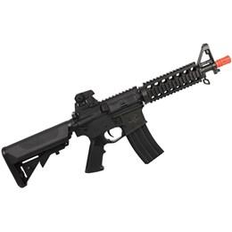 Rifle Fuzil Airsoft Elétrico Qgk M4 Zulu S-1 Automático até 300 FPS