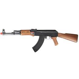 Rifle Fuzil Airsoft G&G Armament AK-47 CM RK47 AEG Automática e Semi-Automática