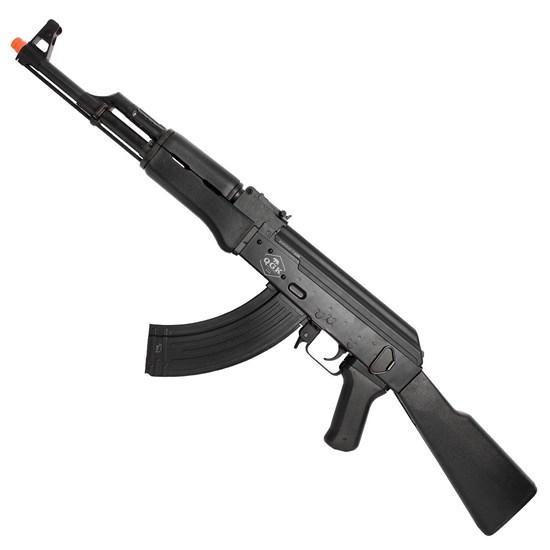 Rifle Fuzil Elétrico Airsoft QGK 47 Victor Automático até 400 FPS