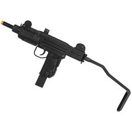 Rifle Submetralhadora Airsoft Mini Uzi CO2 Blow Back 390 FPS