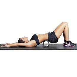 Rolo de Massagem e Relaxamento com Ranhuras para Yoga e Pilates - ProAction GA043