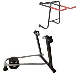 Rolo de Treinamento Dobrável + Suporte mini Transbike Compacto 2 Bikes Altmayer