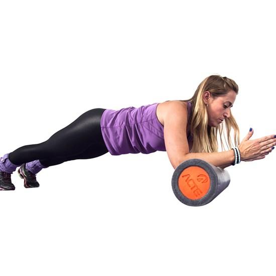 Rolo para Exercícios Yoga Pilates em EPE Cinza – ACTE T61