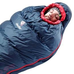 Saco de Dormir -15ºC até -33ºC em Plumas de Ganso - Deuter Astro Pro 800