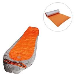 Saco de Dormir até -3,8ºC Coleman + Isolante Térmico AZTEQ