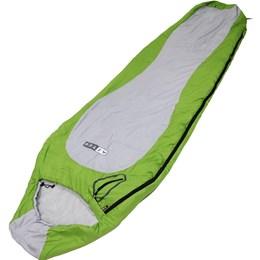 Saco de Dormir Azteq +2ºC à +6ºC Raptor Verde com Cinza