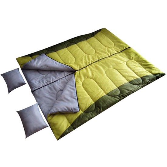 Saco de Dormir de Casal Moon com Travesseiro 12ºC a 25ºC - EchoLife