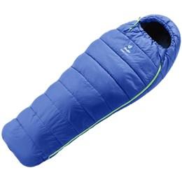 Saco de Dormir Deuter Starlight Infantil Azul Expansível 1,60 a 1,90