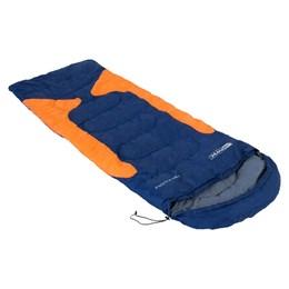 Saco de Dormir Freedom para Camping-1,5ºC à -3,5ºC Azul e Laranja - Nautika
