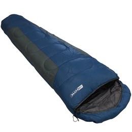 Saco de Dormir Mummy -1º a 8º Tipo Sarcófago Azul e Cinza - Nautika