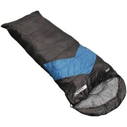 Saco de Dormir Nautika Viper Tipo Envelope e Sarcófago Azul Escuro