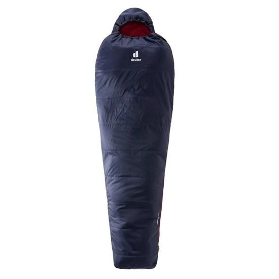 Saco de Dormir para Camping Deuter Dream Lite 500 Preto com Cinza