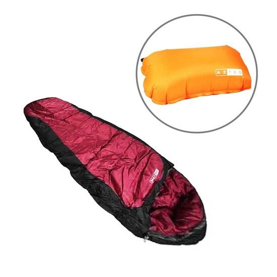 Saco de Dormir Tantry Nautika com Travesseiro Inflável Looper AZTEQ