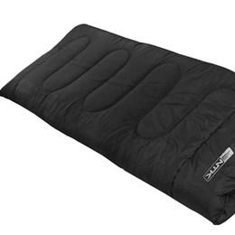 Saco de Dormir tipo Envelope Vezper Nautika Temperatura até 5°C Preto
