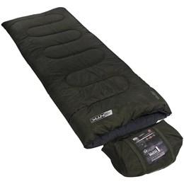 Saco de Dormir tipo Envelope Vezper Nautika Temperatura até 5°C Verde