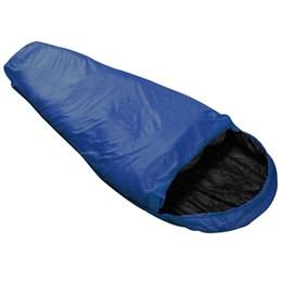 Saco de Dormir Tipo Sarcófago Micron X-Lite Azul + Colchonete Inflável Azteq