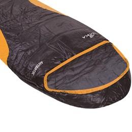 Saco de Dormir Tipo Sarcófago para Temperatura de -7 Antartik Nautika 230500 Laranja